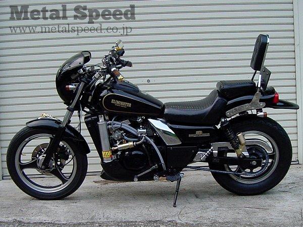 カワサキエリミネーター250ターボ by メタルスピード