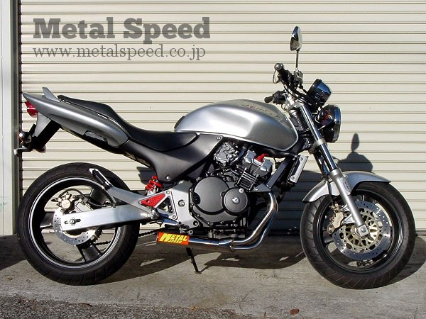 ホンダ・ホーネット250用スーパーショートマフラー by メタルスピード